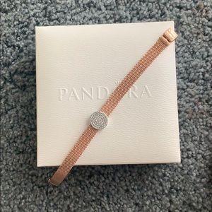 Pandora Reflexions Rose bracelet